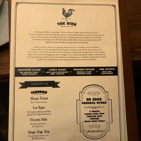 Yardbird Southern Table Bar Photo