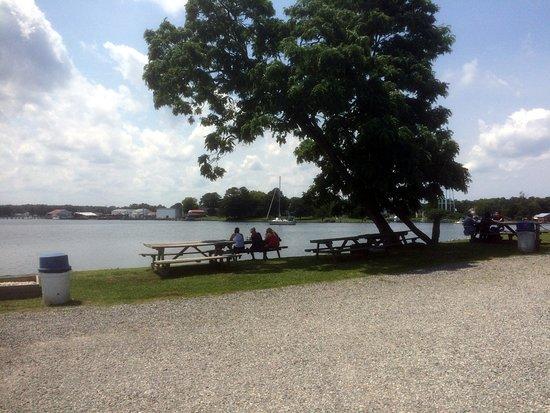 Reedville, Вирджиния: Outdoor Seating Area