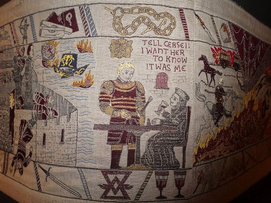 Ulster Museum: Game of Thrones tapestry