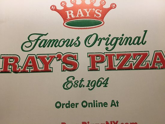 Famous Original Ray's Pizza: Ray's - the famous original!