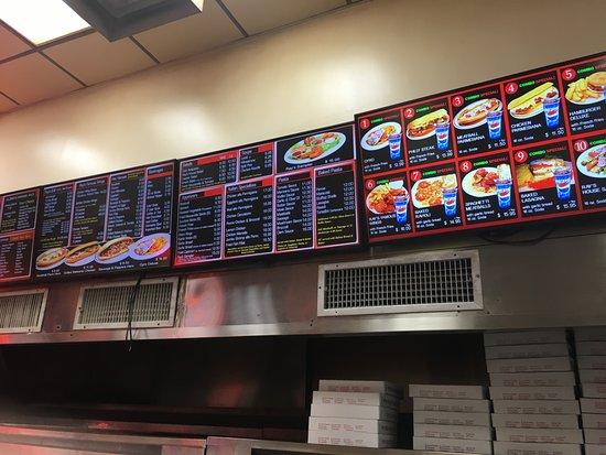 Famous Original Ray's Pizza: menu