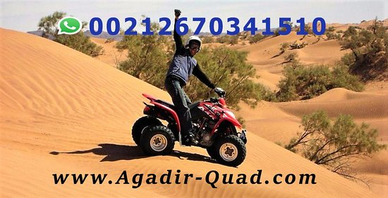 Quad biking in Agadir