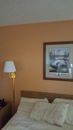 McGregor, Minnesota: the room