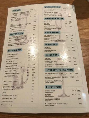 Orewa, Nueva Zelanda: menu 1