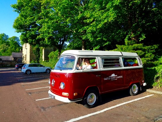 Piper's Pitch: Vintage VW hired from Castle Coast Campers