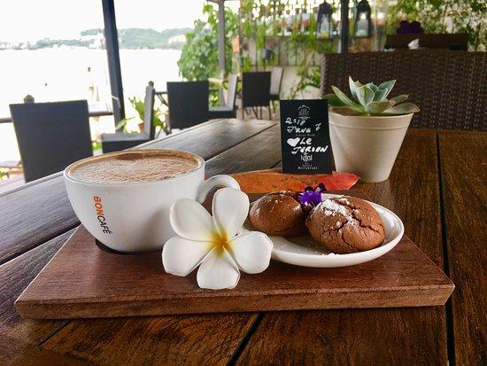 Le Jaroen Restaurant Koh Samui: Staff's details to make me feel at home :)