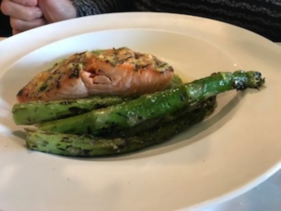 Port Hadlock, واشنطن: Salmon dinner