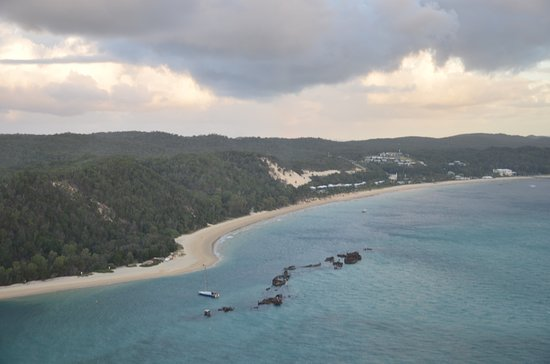 Tangalooma Helicopter Service: Tangalooma Wrecks