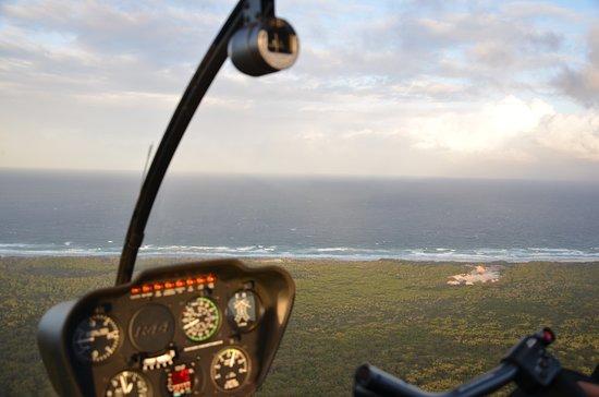 Tangalooma Helicopter Service: East Coast of Moreton