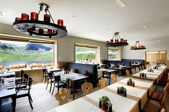 Melchsee-Frutt, Switzerland: Restaurant