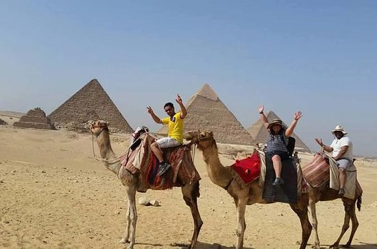 Sunrise Camel ride at the Pyramids...
