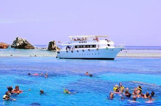Circuit en bateau à l'île de Tiran...