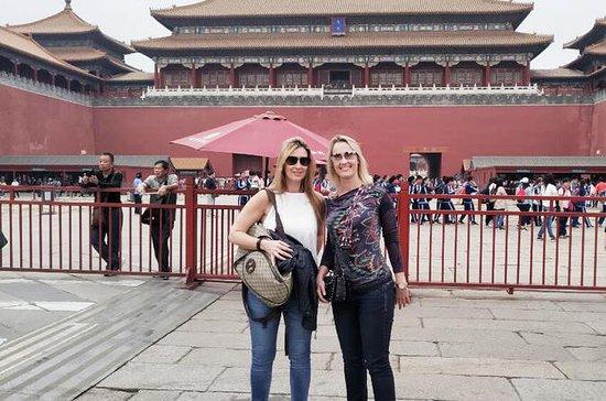 Tiananmen Square and Forbidden City...
