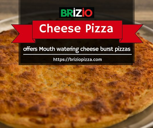 Brizio Pizza: A highly delicious option for this weekend is cheese pizza!  Have you tried it yet?? Order now: