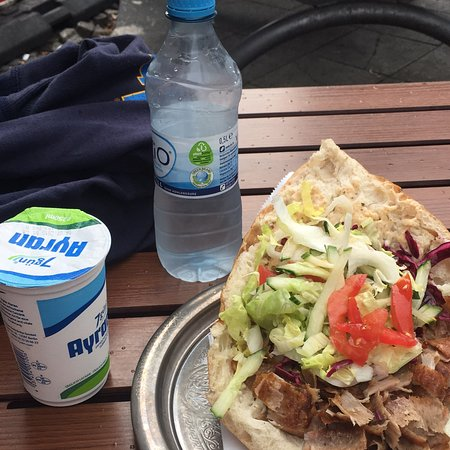 7 50 Euro Yogurt Drink Ayran Water And Doner Gyro Picture Of Pergamon Doner Pizza Berlin Tripadvisor The one thing that was. 7 50 euro yogurt drink ayran water