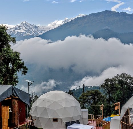 The most breathtaking view and resort in Chopta