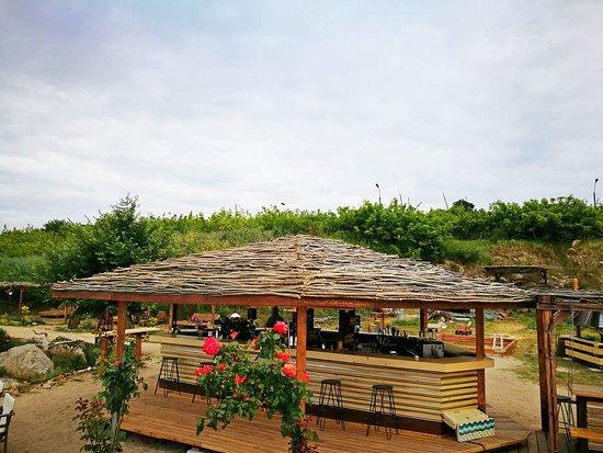 Chernomorets, Bulgarie : Bar Botanic, Chervenka beach, Chernomoretz, Bulgaria