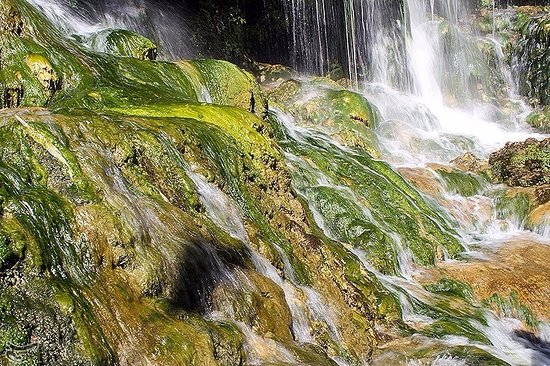 Fars Province, Iran: A part of its waterfall