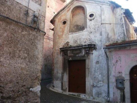 Sala Consilina, Italie : La Cappella fu fondata dall'abate Felice Pandelli e nel 1729, data del primo ed unico restauro,