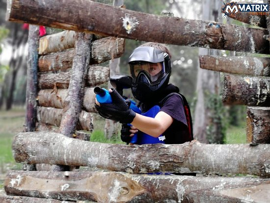 Matrix Paintball Fregene