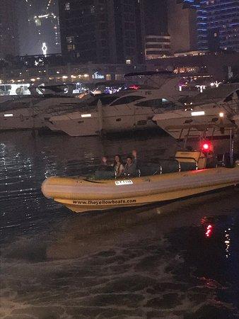 The Yellow Boats : Dubai Marina trip