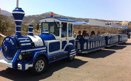 Dng Travel - Santorini Train Tour: Santorini Train