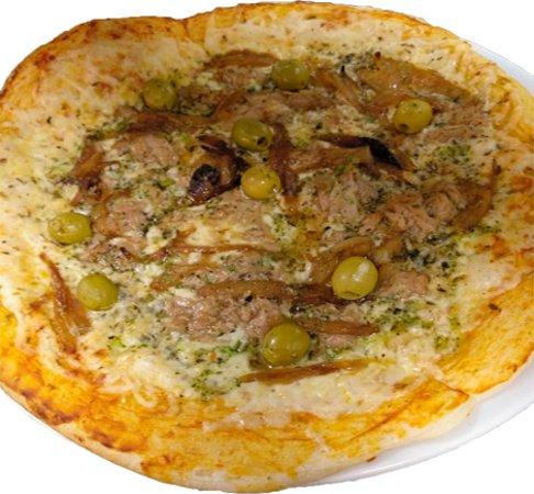 Creixell, Spain: Pizza casera