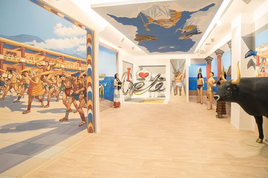 MINOAN'S WORLD 3D Museum & 9D Cinema