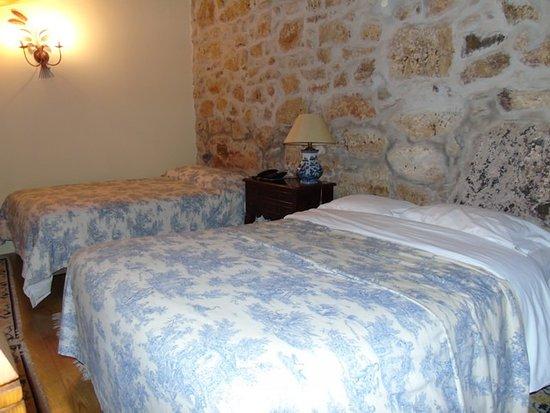 Hotel Rural Casa dos Viscondes da Varzea: Chambre double en mezzanine