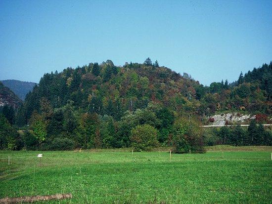 Bohinjska Bistrica, Slovenya: Ajdovski gradec