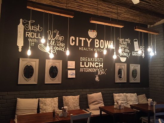 lovely decor - picture of city bowl health kitchen, cape town