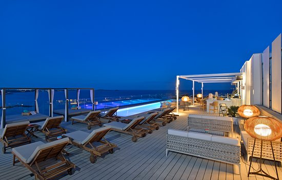 Roof Top Pool Bar 2018 Picture Of Sol Beach House Ibiza By