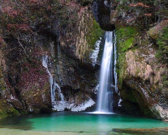 Bohinjska Bistrica, Slovenya: Grmecica Waterfall