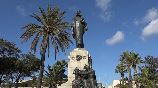 Floriana, Malta: The Mall Gardens