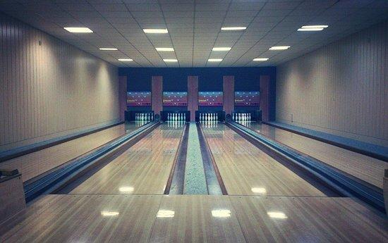 Auch zum Bowling trifft man sich gerne im Gasthof auf dem Lauschaer Köpplein.