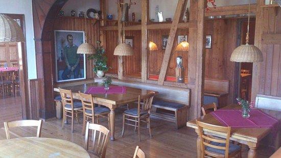 Lauscha, Niemcy: Der Gasthof ist täglich ab 16 Uhr geöffnet.