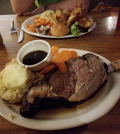 Prime Rib Dinner and the Sunfish/Bluegill Dinner *****