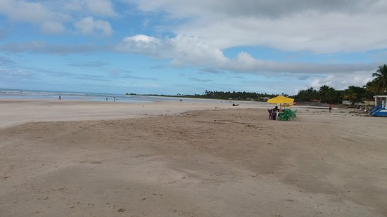 Paripueira, AL: Praia tranquila