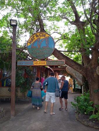 State of Alagoas: Entrada do Ponto de Apoio