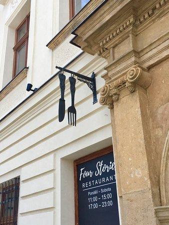 Prostejov, Czech Republic: Hlavní vstup do domu