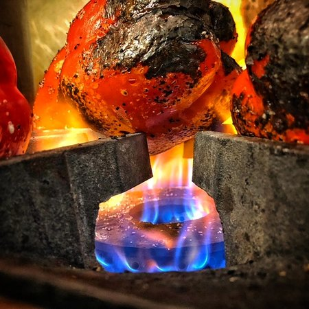 Moore, OK: Flame Roasted Peppers