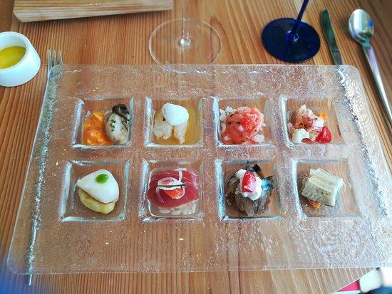 Madonnina del Pescatore: Sushi & sushi percorso di 8 crudi