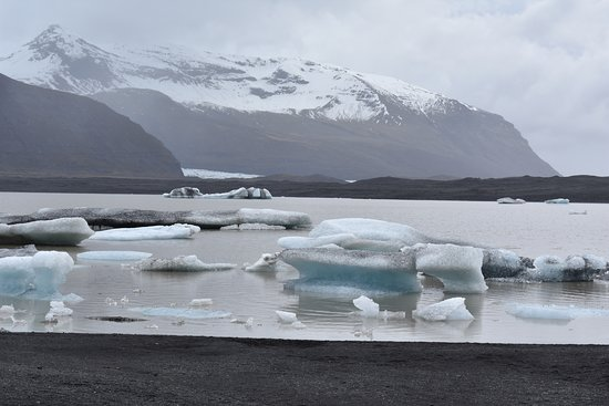Hotel Skaftafell : Nearby Trail to Glacier
