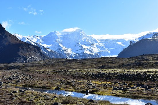 Hotel Skaftafell : Short Drive for Photos when Sun Came Out