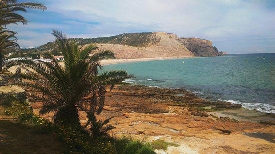 Praia da Luz: panorama