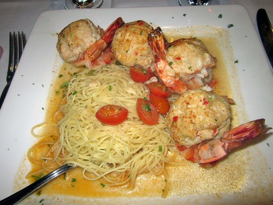 Villa Barone: Stuffed Shrimp