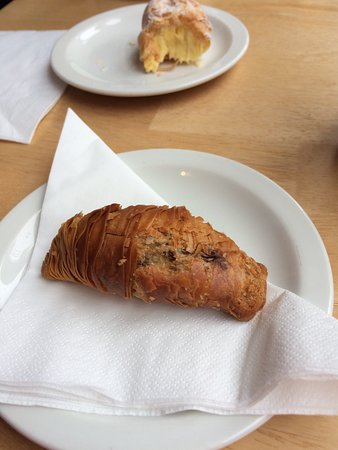 Beckett's coffee shop: Hazelnut and Chocolate pastry