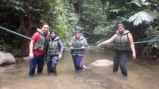 Raub District, Malaysia: river trekking
