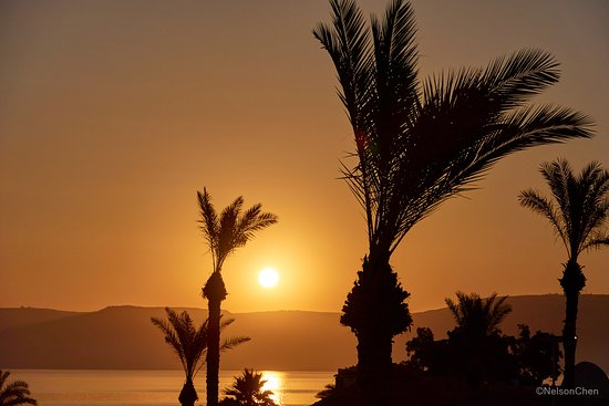 Leonardo Club Hotel Tiberias : Morning Sunrise over the Sea of Galilee