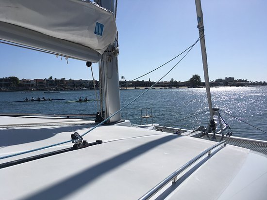 Newport Beach Sailing Charters Day